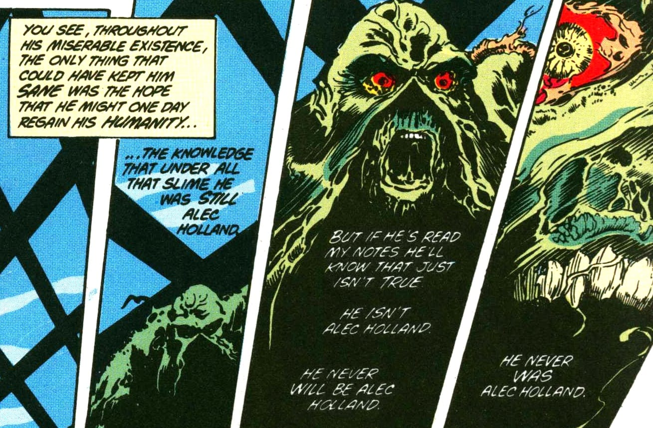 Swamp Thing fumetto