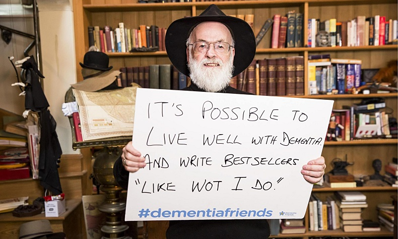 Terry Pratchett Dementia Friends campaign