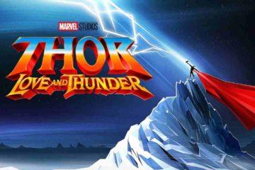 Thor love thunder sceneggiatura