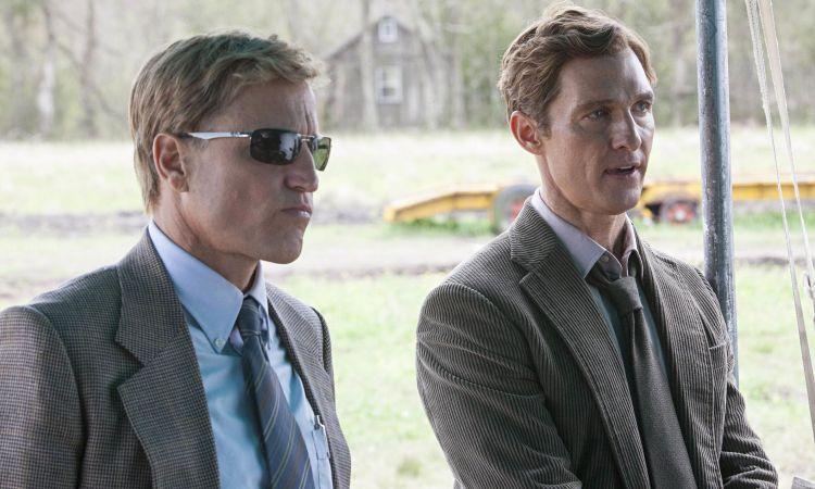 True Detective, starring Woody Harrelson and Matthew McConaughey