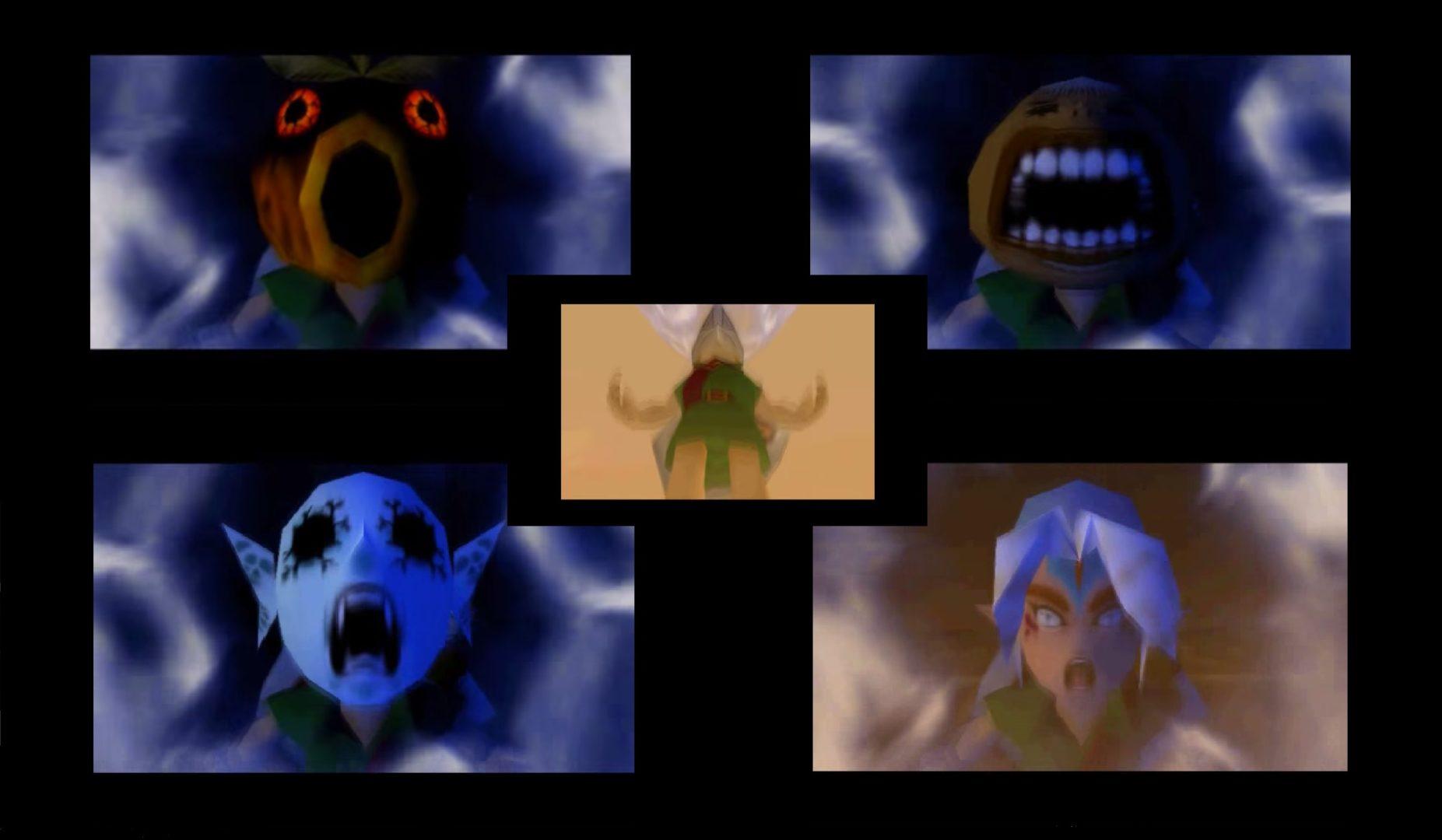 Zelda Majora's Mask trasformazioni e teatro Noh