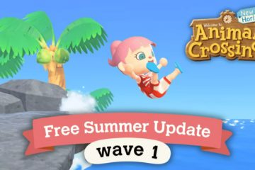 animal crossing aggiornamento estivo