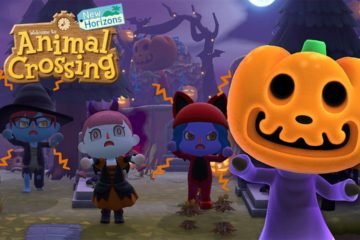 animal crossing aggiornamento halloween