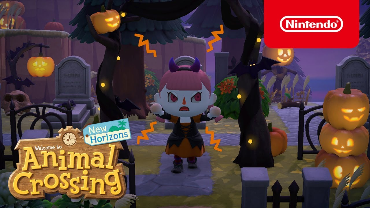 animal crossing aggiornamento halloween