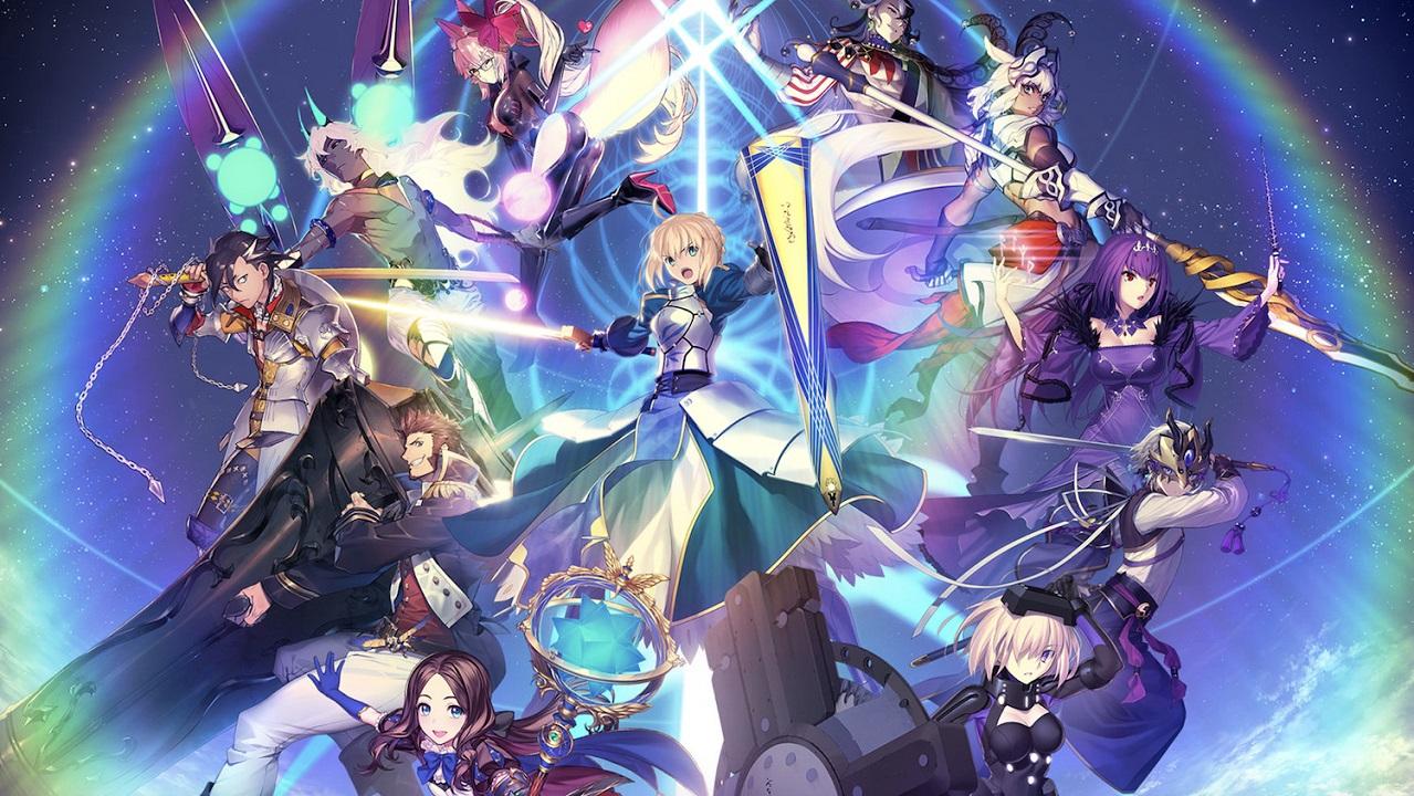 anime fate visual novel