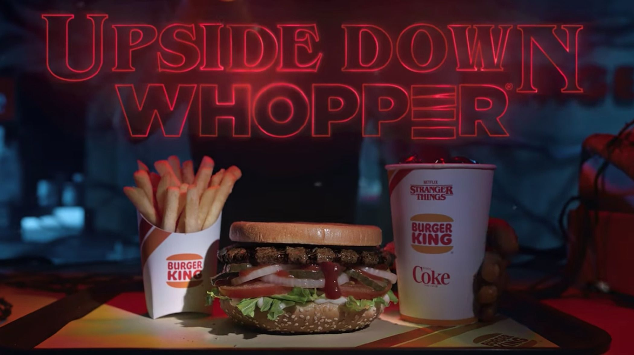 Burger King Stranger Things