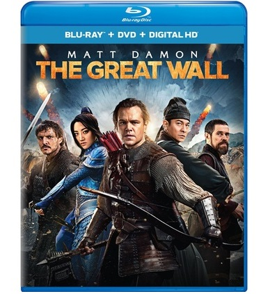 the great wall recensione blu-ray