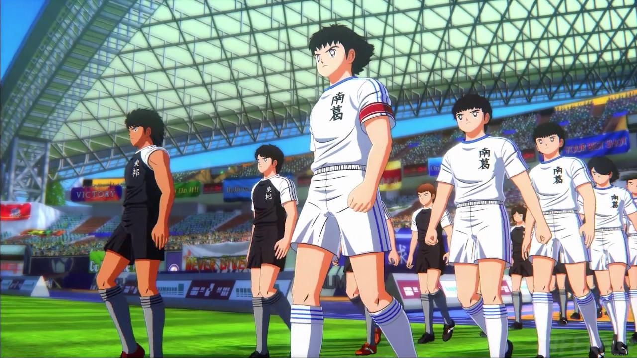 captain tsubasa modalità storia