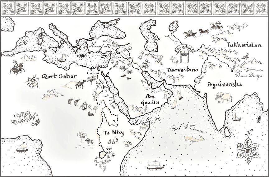 città ottone fantasy