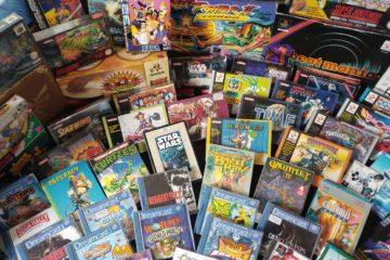 collezione videogiochi