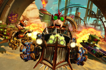 crash team racing rustland