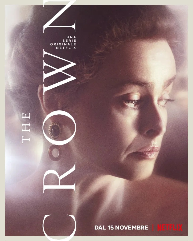 crown poster quarta stagione