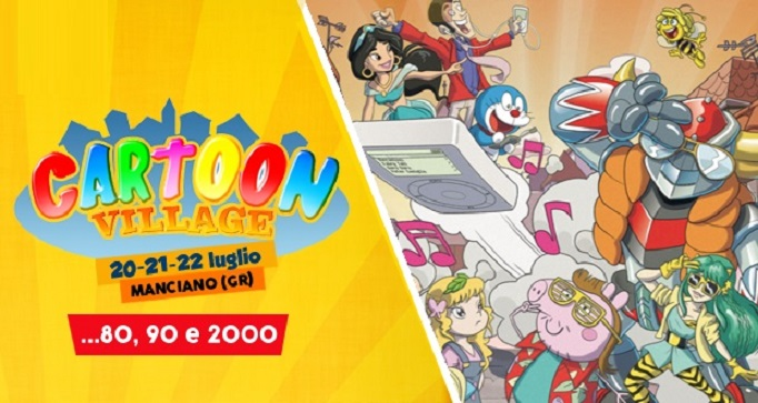 cartoon village 2018