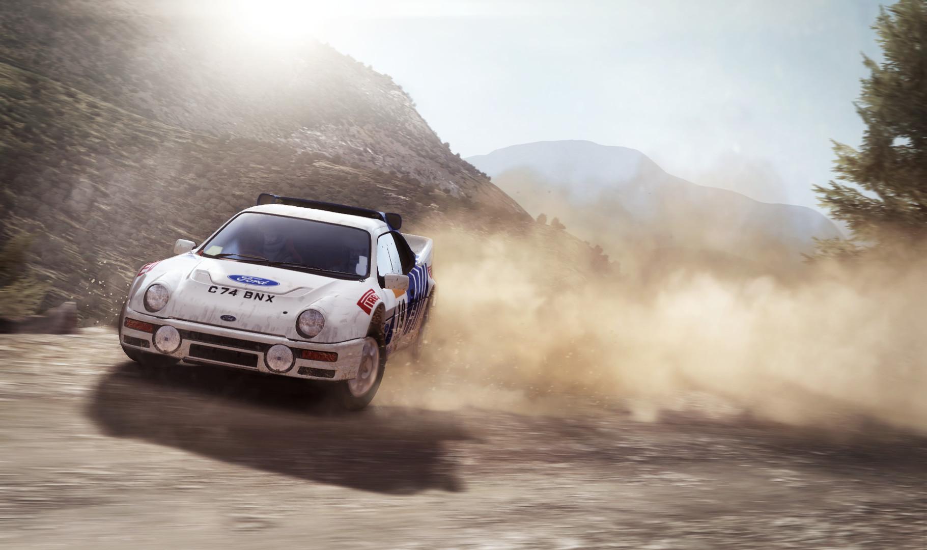 dirt rally gameplay