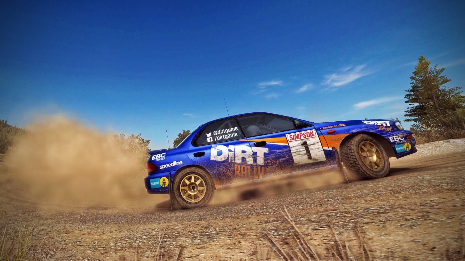 dirt rally rece