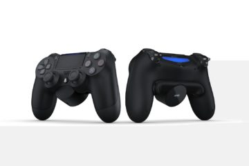 dual shock back button attachment