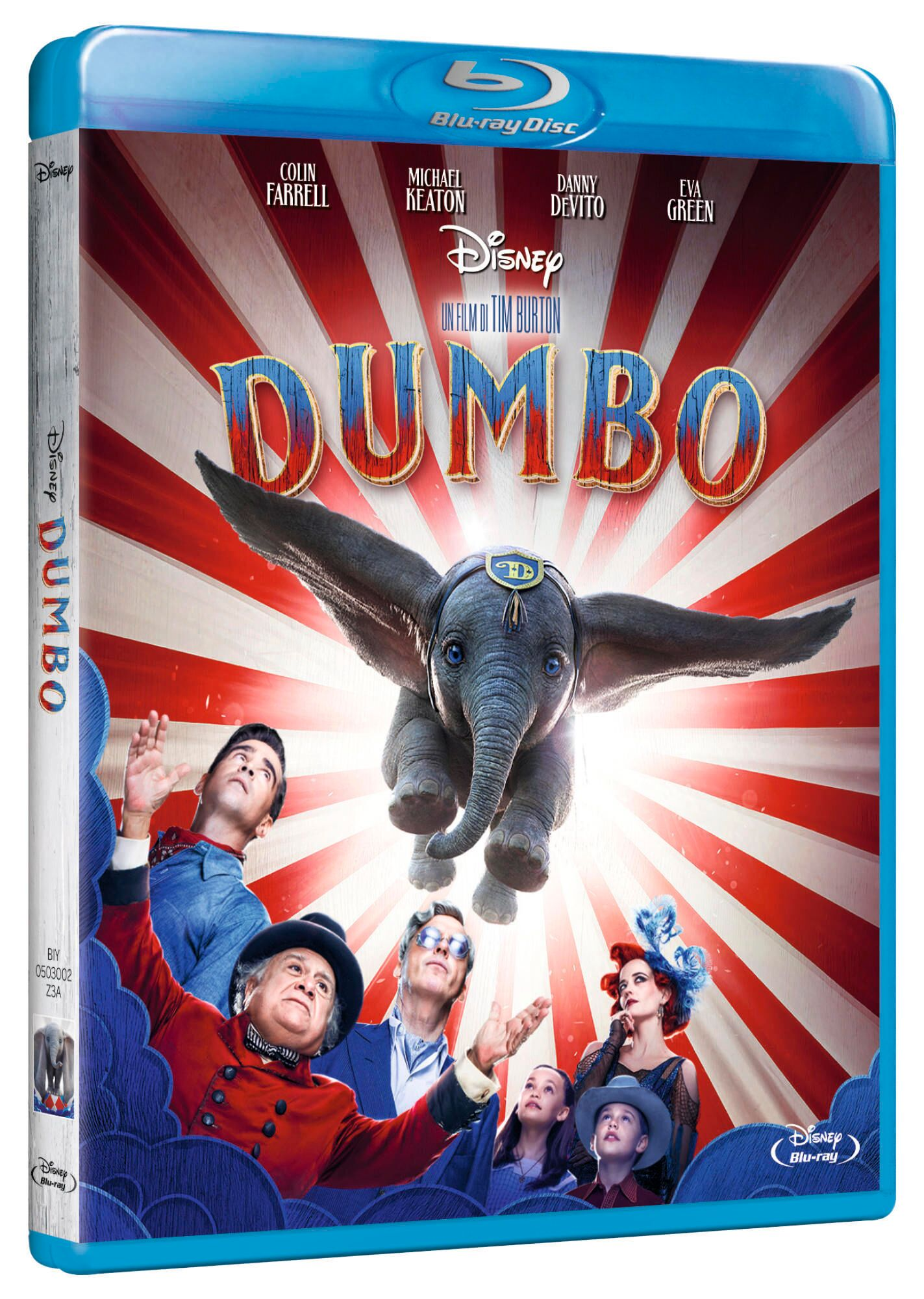 Dumbo Home video
