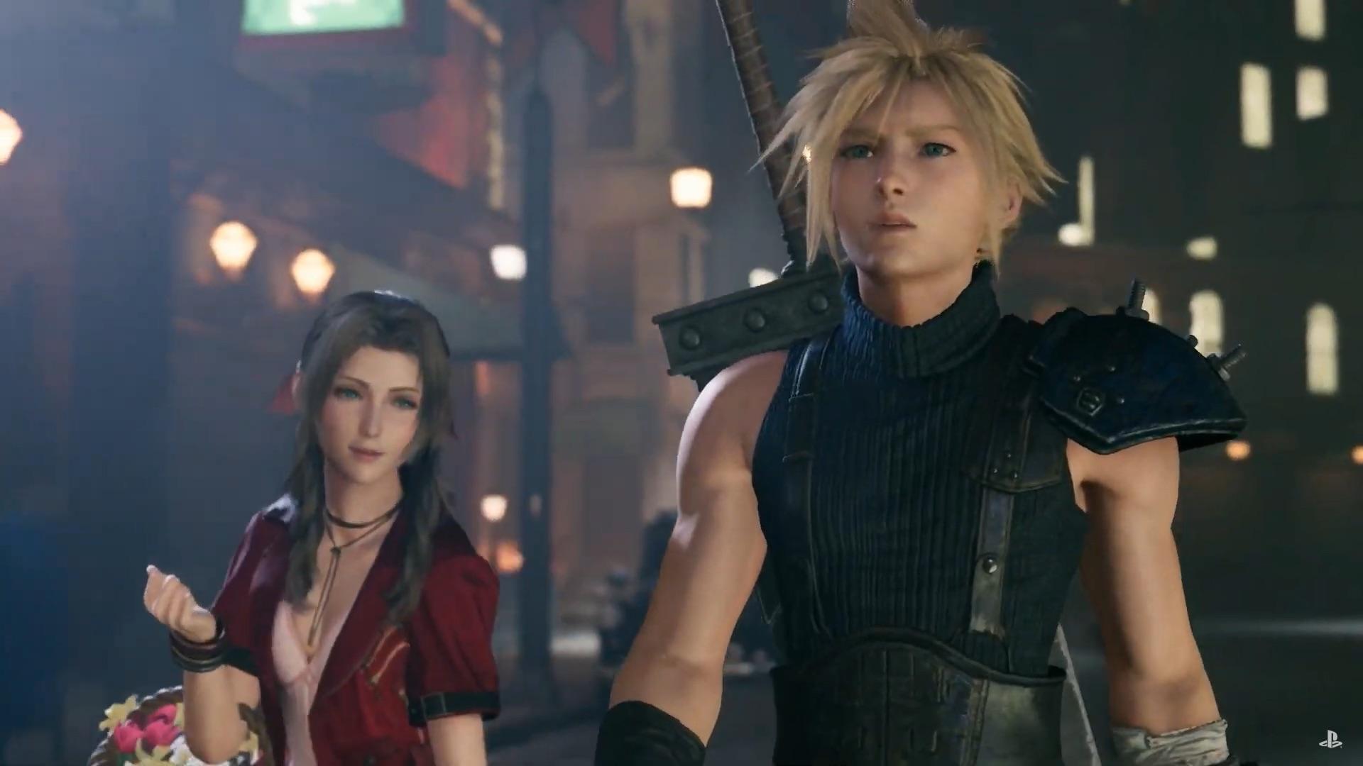 Final Fantasy VII Remake demo