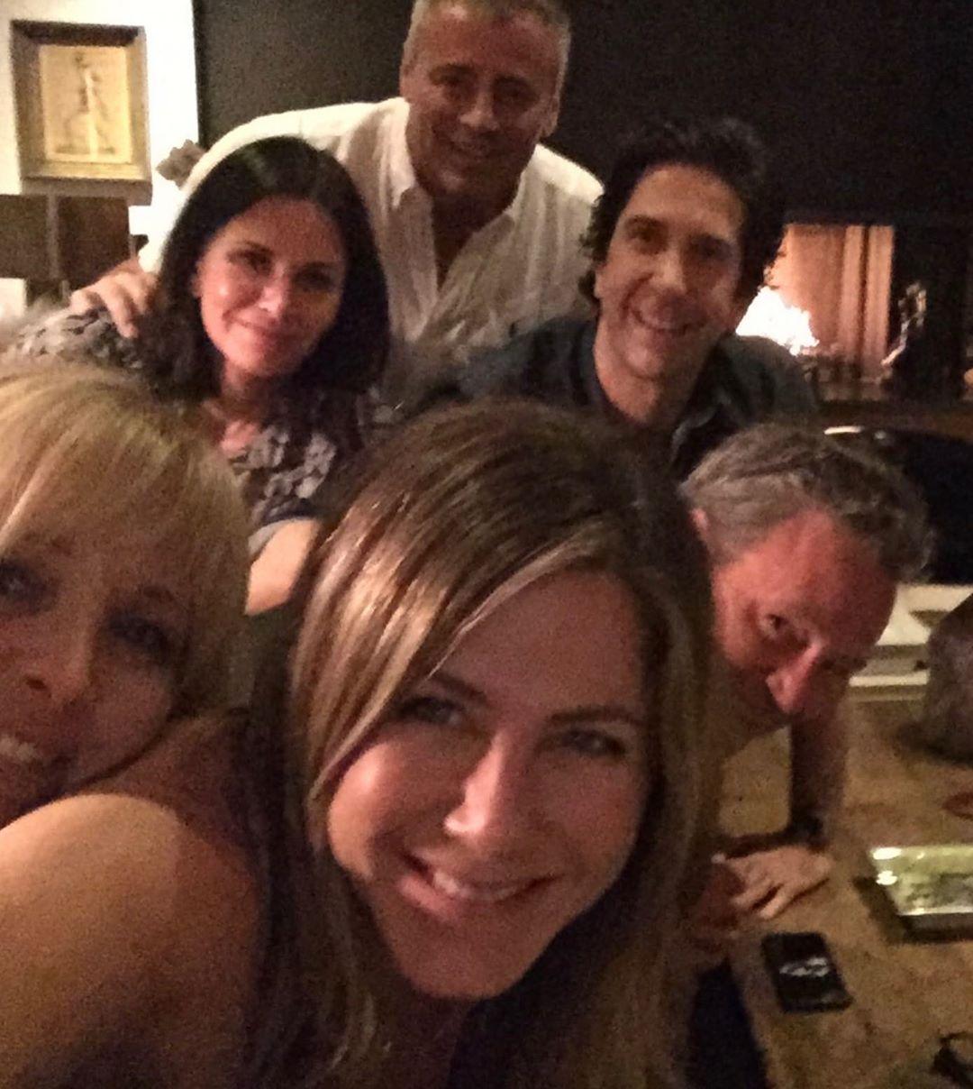 friends reunion riprese