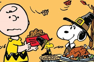 giorno ringraziamento peanuts