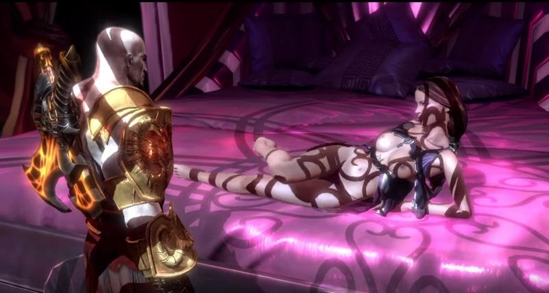 god of war kratos misogino