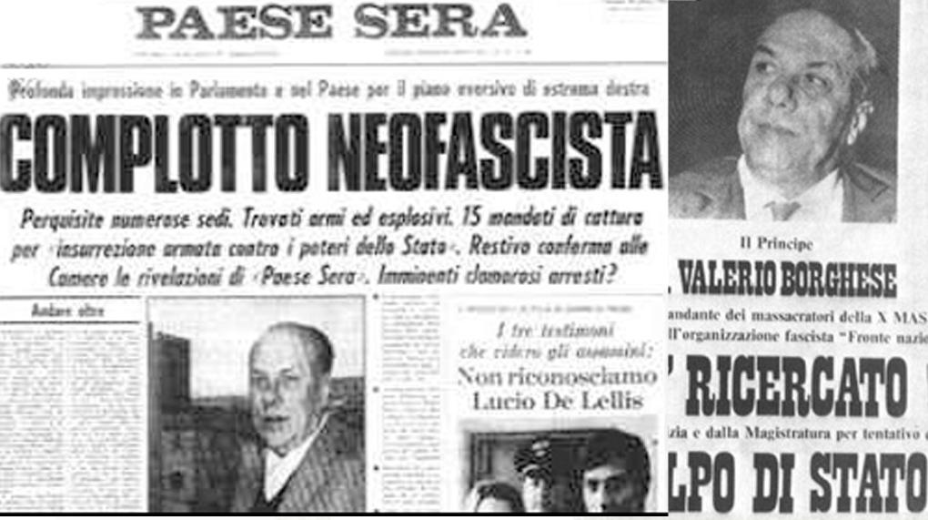 Uno dei titoli dei giornali a seguito del tentato golpe.