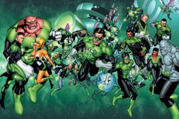 green lantern corps script