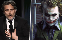 joaquin phoenix omaggia heath ledger