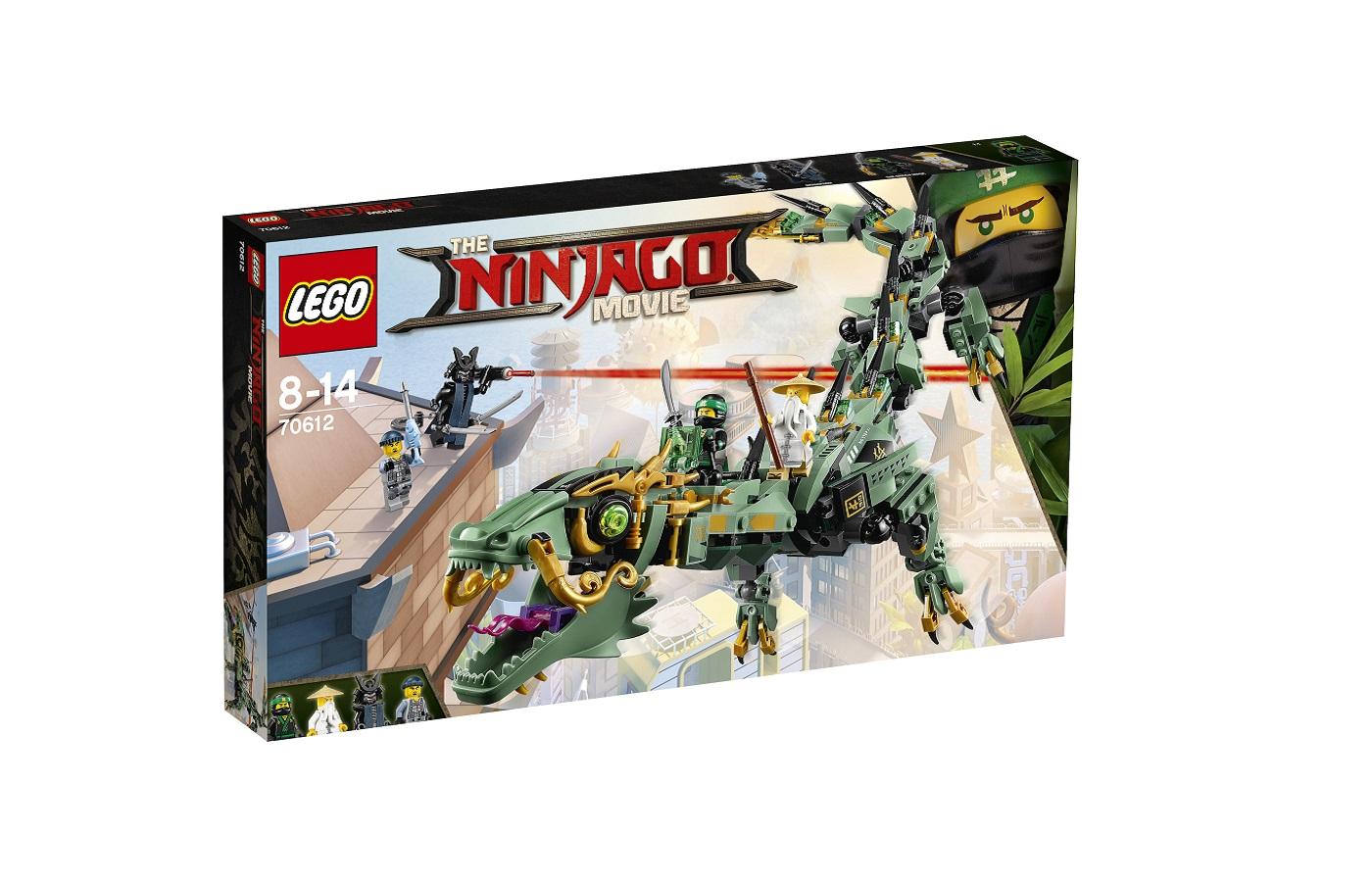 Arrivano in italia i playset lego ninjago movie