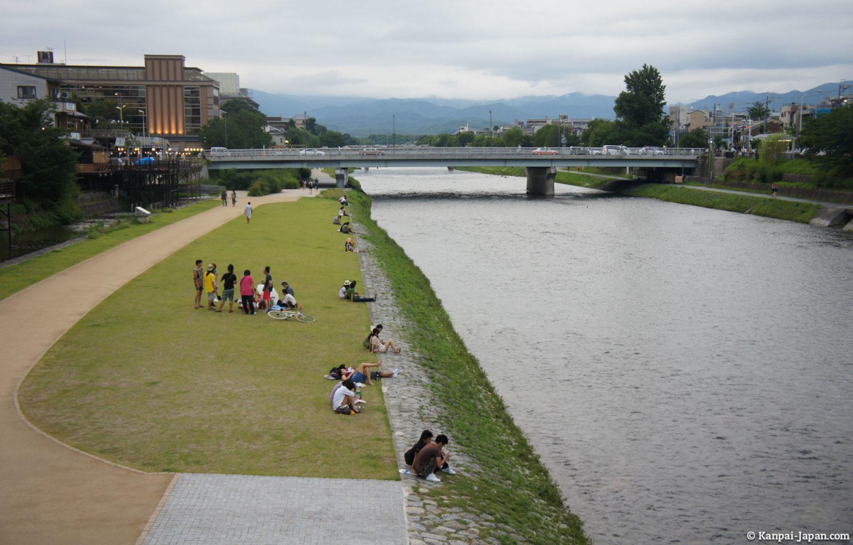 luoghi spirituali del giappone, Kamo River