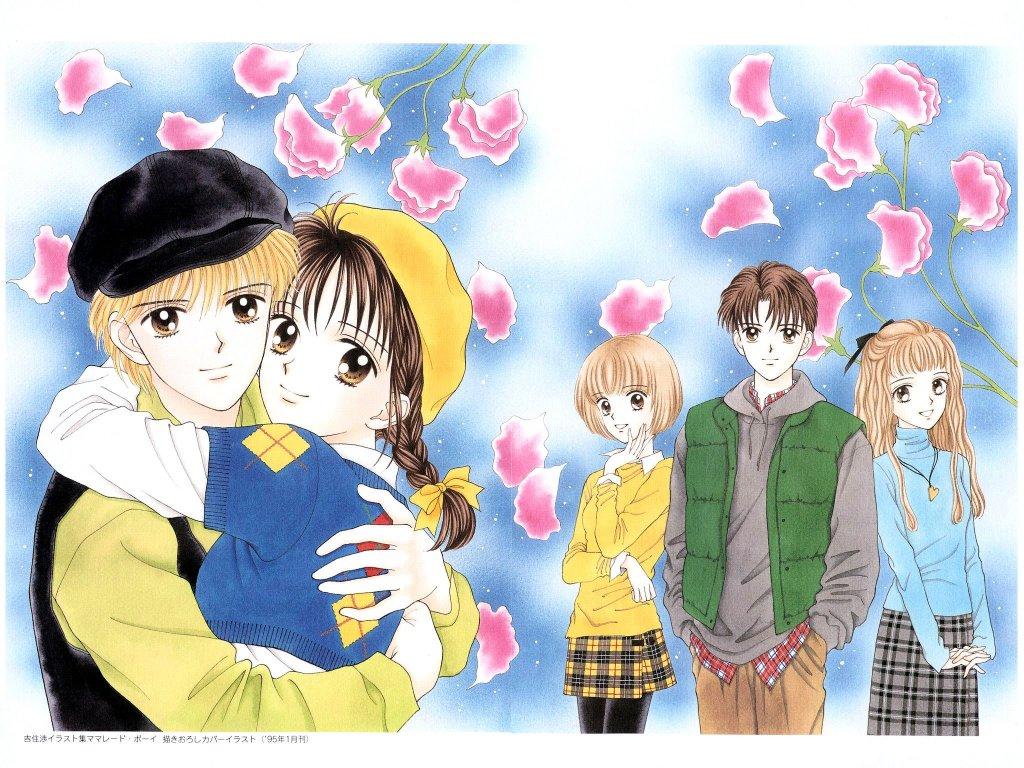 manga anime amore