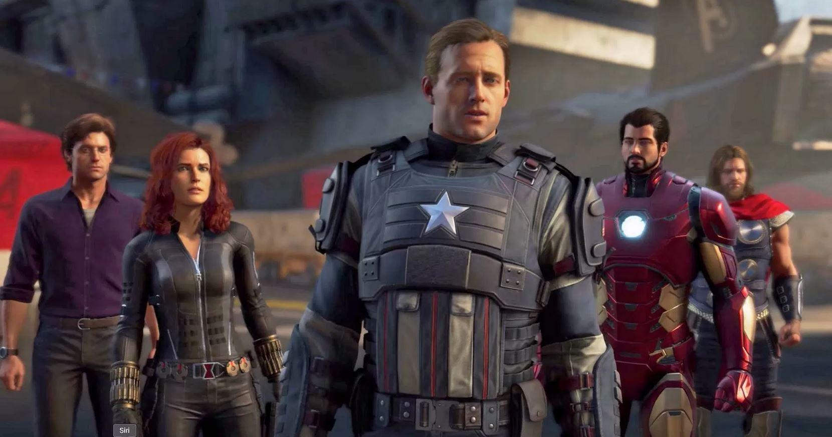 marvel's avengers ps5