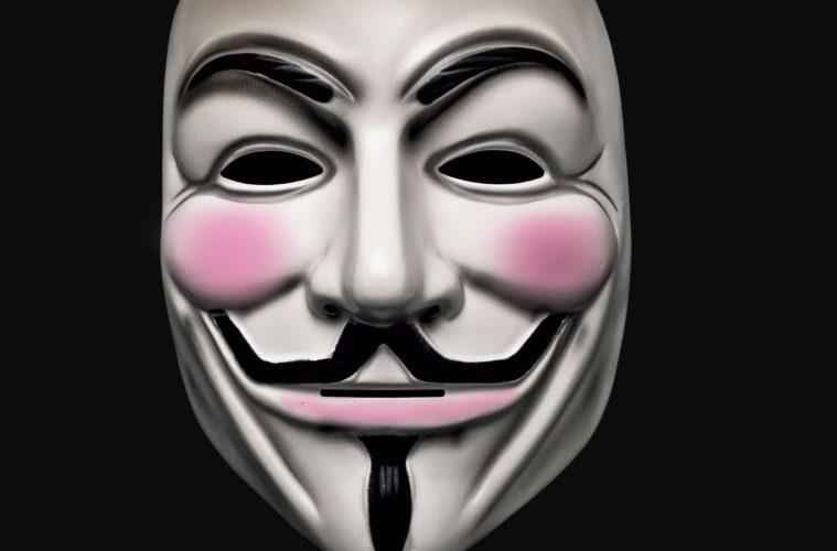 maschera guy fawkes