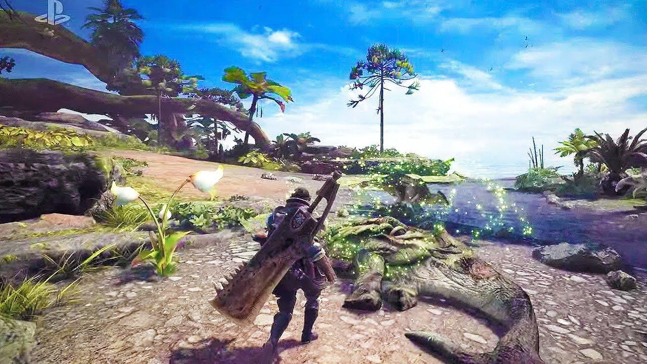 e3 monster hunter world anteprima