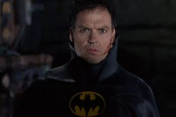 michael keaton batman flash