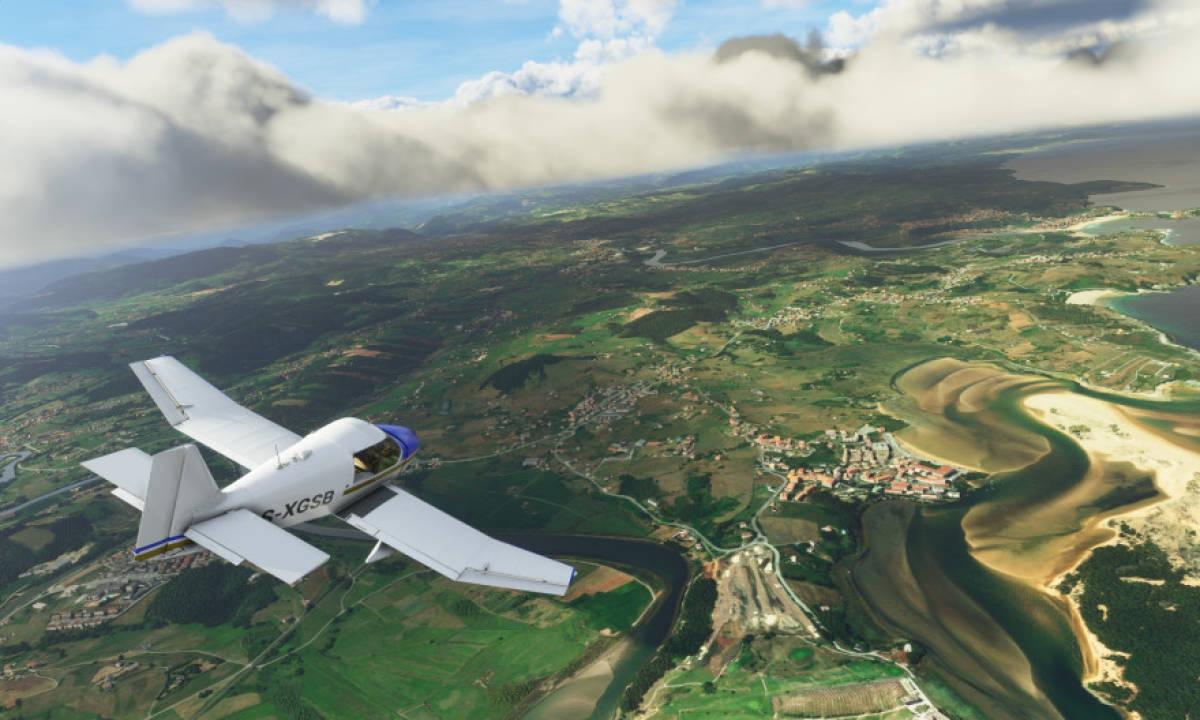 microsoft flight simulator google maps