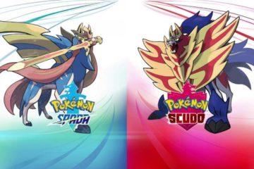 nuovi pokemon spada scudo