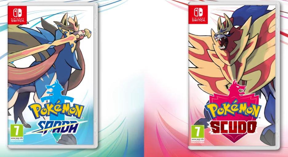 pokemon spada scudo direct