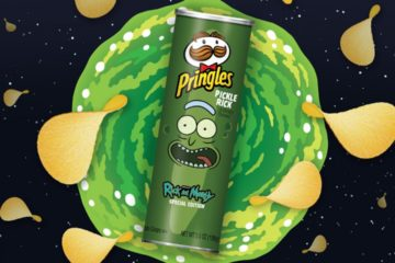 rick and morty pringles