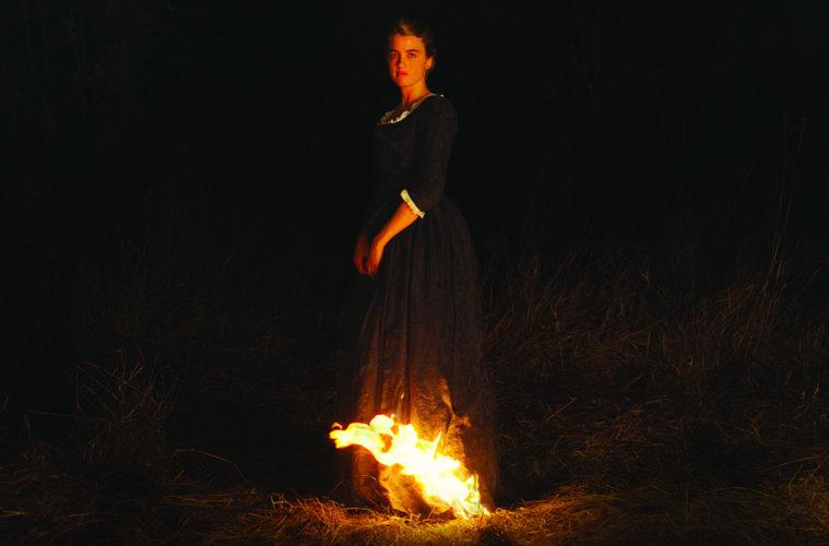 ritratto della giovane in fiamme