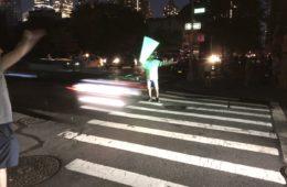 Spade laser traffico