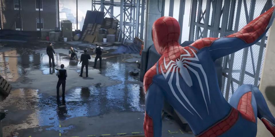 e3 spider-man anteprima