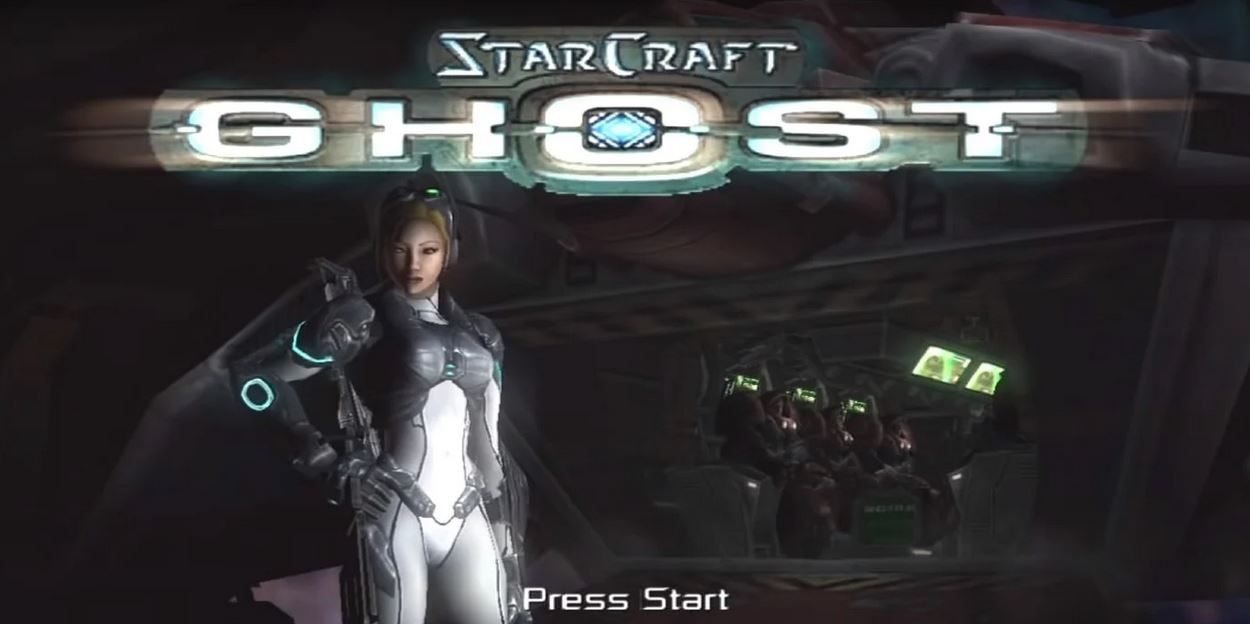 starcraft ghost gameplay
