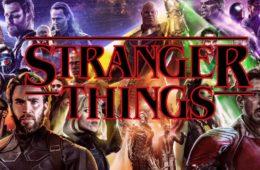 Stranger Things Avengers