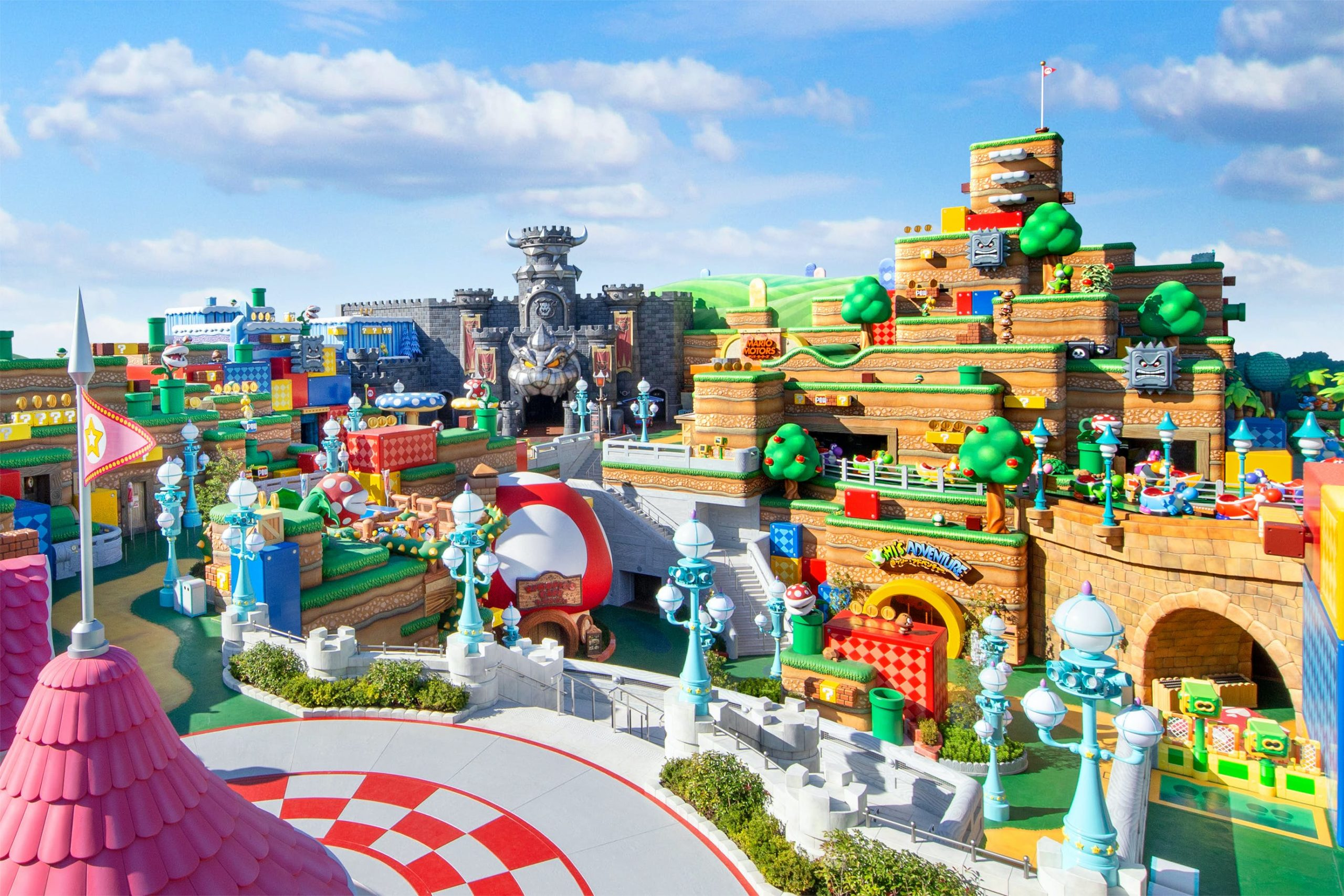 super nintendo world rimandata apertura