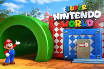super nintendo world video
