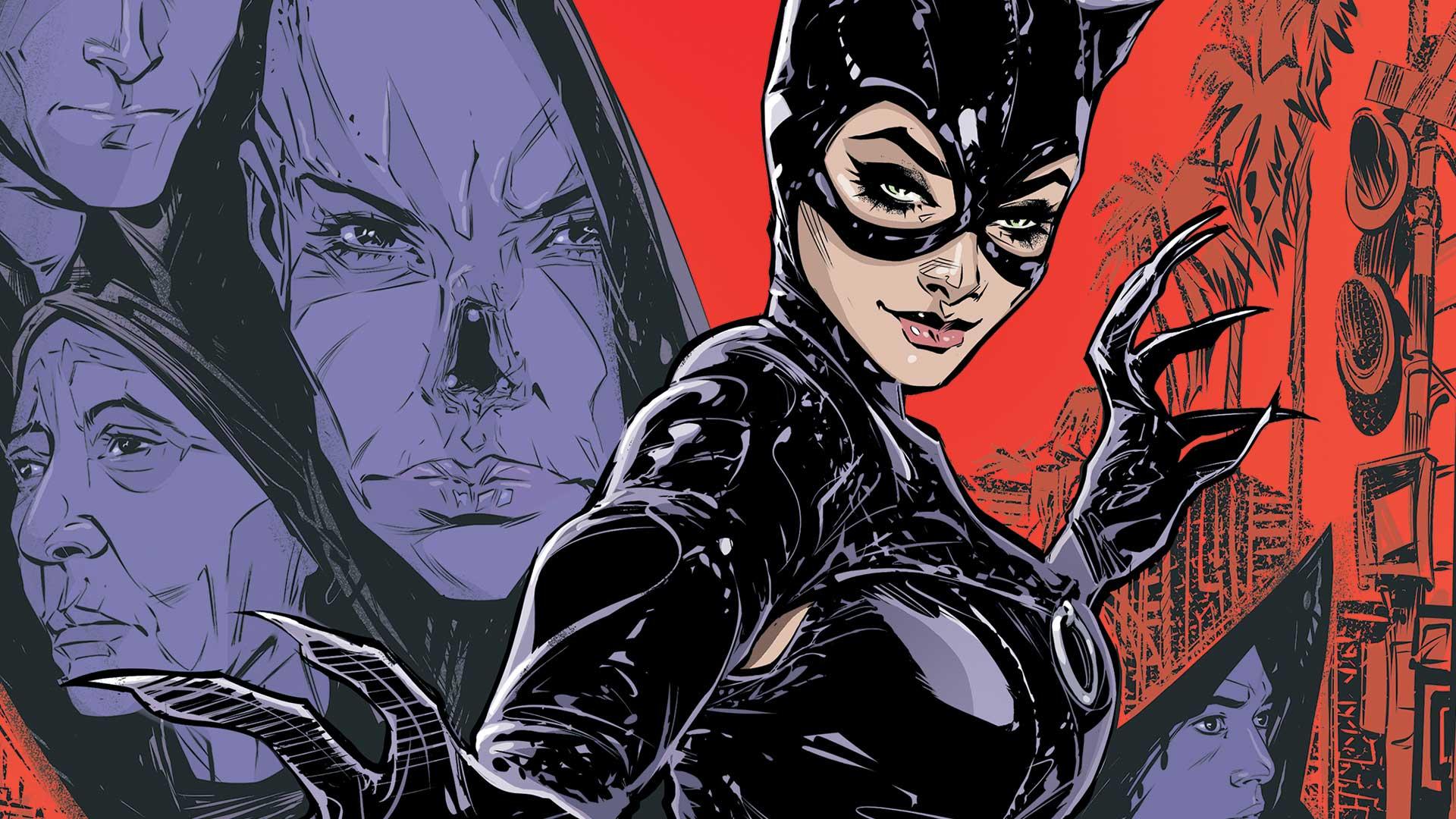 the batman catwoman kirby