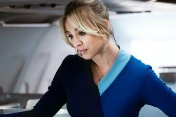 the flight attendant kaley cuoco