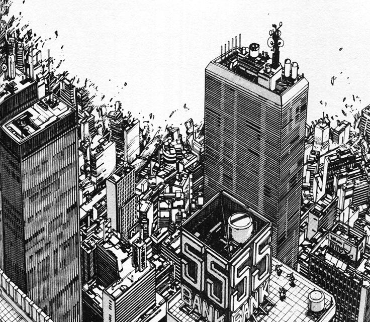 Tokyo città manga